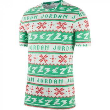 T-shirt Jordan Ugly Sweater white/lucky green | Air Jordan