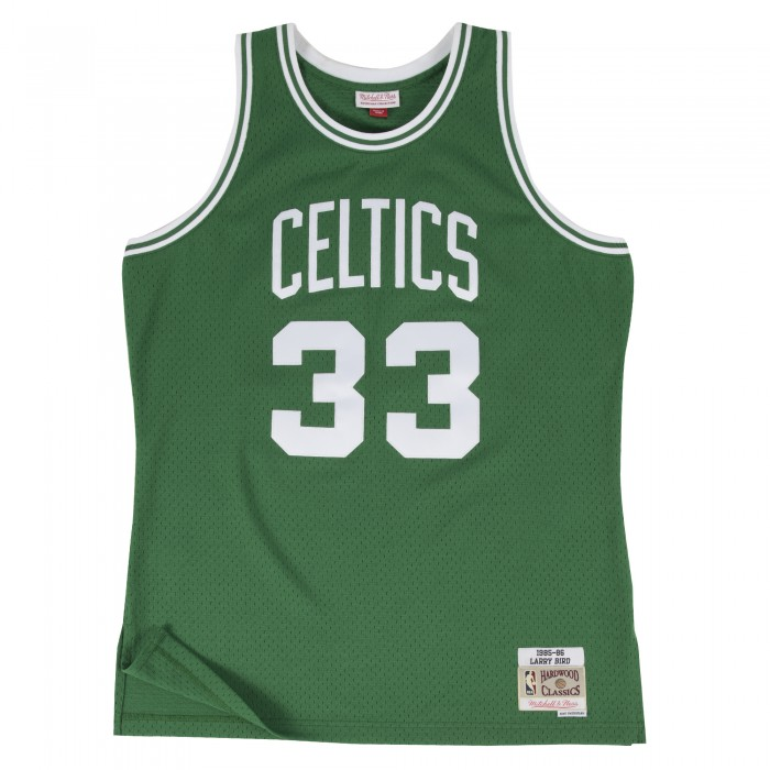 Swingman Jersey - Larry Bird  33 Green/white