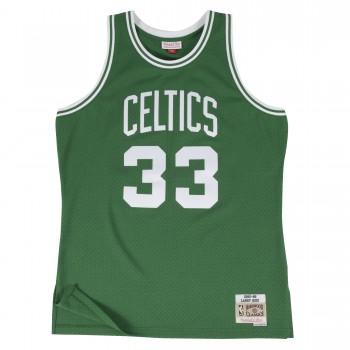 Swingman Jersey - Larry Bird  33 Green/white | Mitchell & Ness