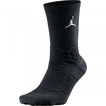 Chaussettes Jordan Ultimate Flight Crew 2.0 black/white | Air Jordan