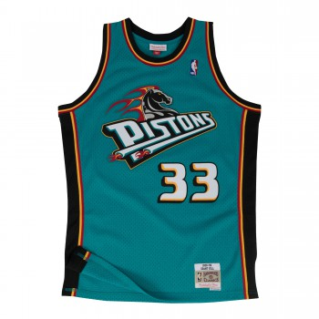 Swingman Jersey - Grant Hill  33 Teal/black | Mitchell & Ness