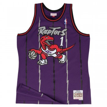 Swingman Jersey - Tracy Mcgrady  1 Purple/red | Mitchell & Ness