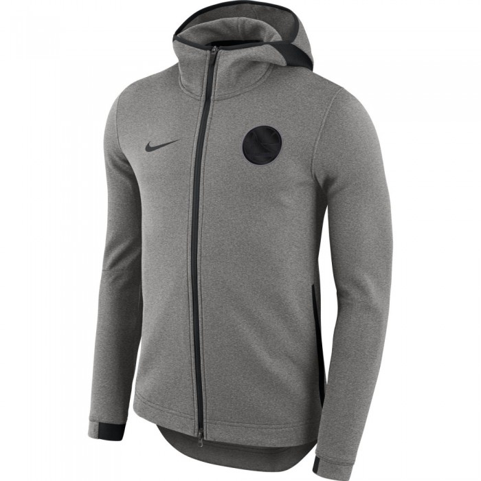 Sweat Golden State Warriors Nike Dry Showtime dark grey/htr/black/black