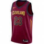 Maillot Lebron James Cleveland Cavaliers Nike Icon Edition Swingman Jersey team red/university gold/college navy (image n°1)