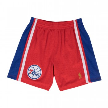 Short NBA Philadelphia 76ers Swingman Mitchell&Ness Red | Mitchell & Ness
