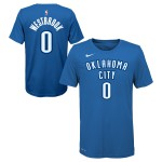 Color  Bleu du produit T-shirt NBA Enfant Russell Westbrook OKC Thunder...