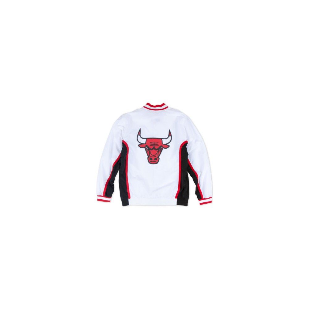 29f8e291efac2 Warm Up NBA Chicago Bulls 1992-93 Mitchell&Ness Authentic White (image n°2