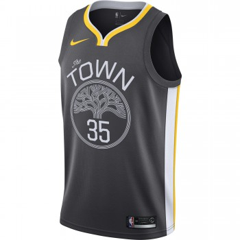 Maillot Kevin Durant Statement Edition Swingman (golden State Warriors) anthracite/white/amarillo | Nike