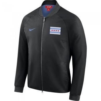 Veste Chicago Bulls City Edition Nike Modern black/valor blue | Nike