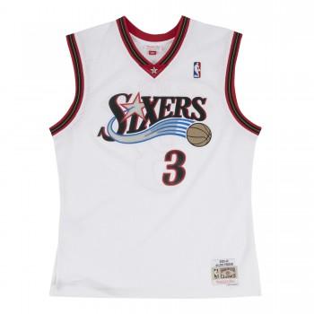 Maillot NBA Allen Iverson Philadelphia 76ers 2000-2001 Swingman Mitchell&Ness White | Mitchell & Ness
