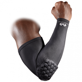 Hexpad Power Shooter Arm Sleeve Black | McDavid