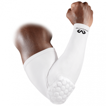 Coudière Mc David Hexpad Power Shooter Arm Sleeve White | McDavid