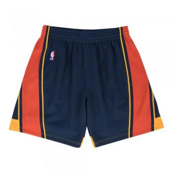 Swingman Shorts Mn-nba-540b-golwar-nvyred-2xl | Mitchell & Ness