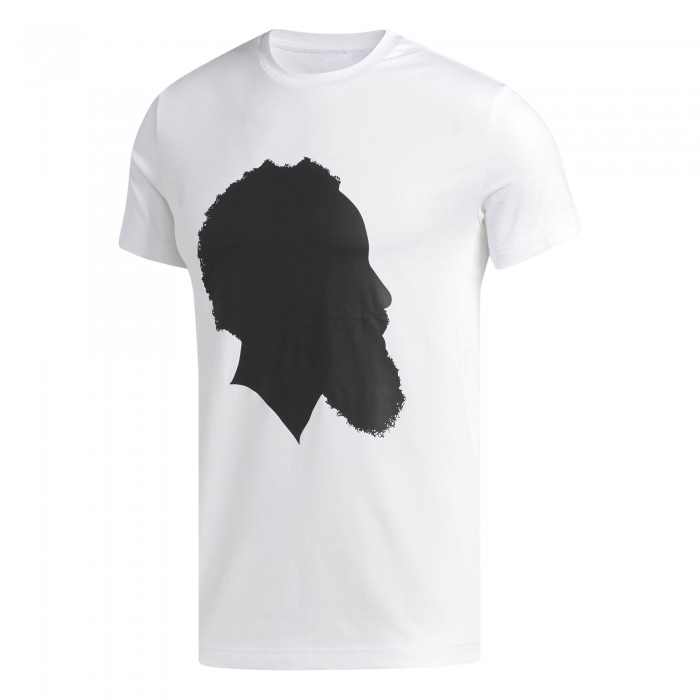 T-shirt adidas Harden Shadow T white