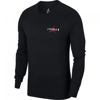 T-shirt Jordan Sportswear Air Jumpman black/gym red | Air Jordan