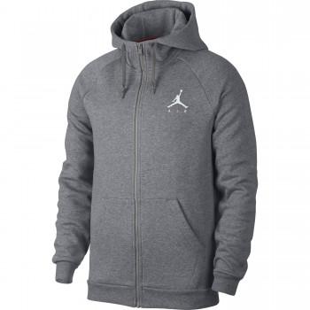 Sweat Jordan Sportswear Jumpman Fleece Men's Full-zip Hoodie carbon heather/white | Air Jordan