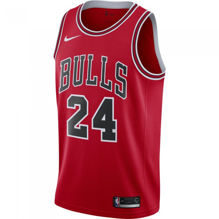 Maillot Lauri Markkanen Maillot Icon Edition Swingman (chicago Bulls) university redwhite