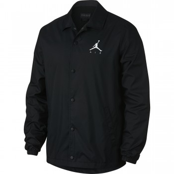 Veste Jordan Sportswear Jumpman Men's Coach's Jacket black/white | Air Jordan