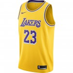 Maillot Icon Edition Swingman Jersey (los Angeles Lakers) amarillo/field purple/white/james lebron (image n°2)