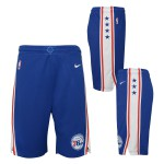 Color  Bleu du produit Short NBA Enfant 76ers Swingman Icon Nike