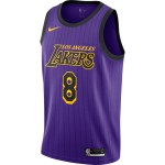 Maillot Kobe Bryant Los Angeles Lakers Nike City Edition swingman n8 (image n°1)