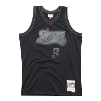 Maillot NBA Allen Iverson Philadelphia 76ers Blackout Mitchell&Ness Swingman | Mitchell & Ness
