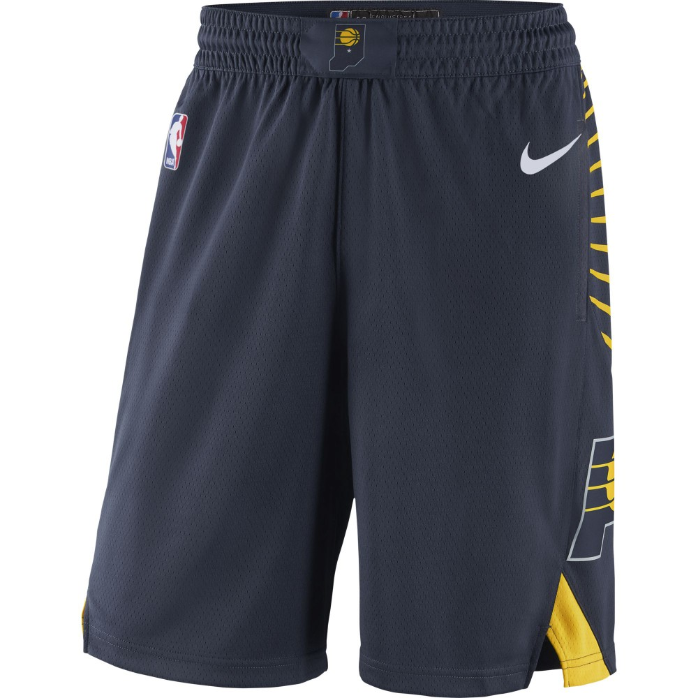 huge discount 189a1 939ee Short Indiana Pacers Nike NBA Icon Edition Swingman ...