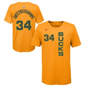 City Edition Dry N&n S/s Tee Bucks Antetokounmpo Giannis Nba Nike | Nike