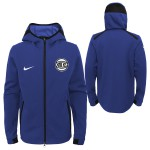 Color  Blue of the product Dry Showtime Hoodie Fz Knicks    Nike