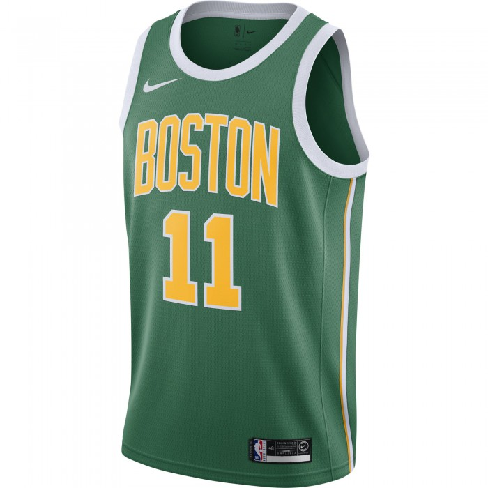Maillot NBA Nike NBA Kyrie Irving Boston Celtics Earned Edition Swingman