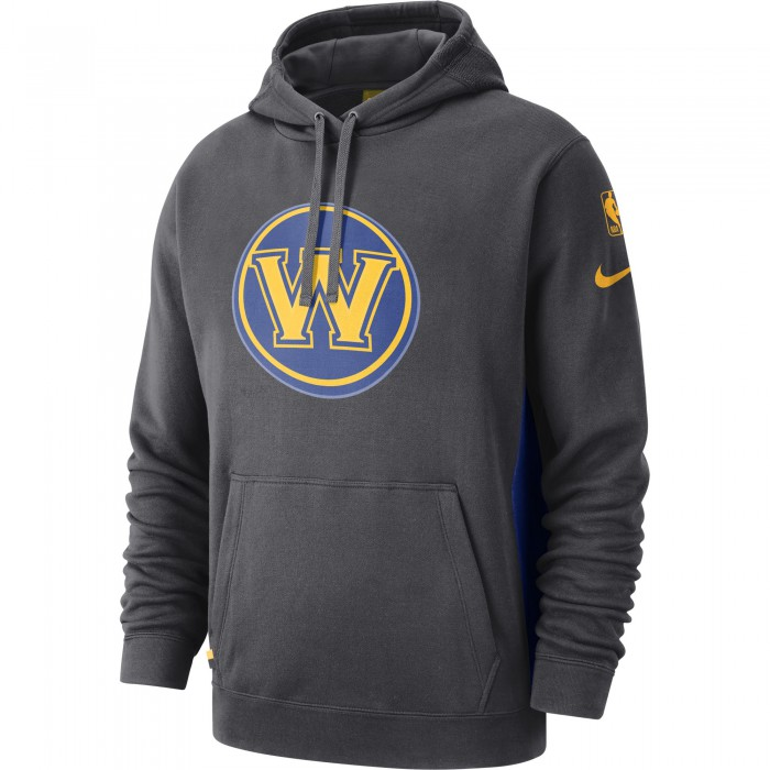 Sweat Golden State Warriors Nike anthracite/rush blue/amarillo