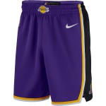 Color  Violet du produit Short NBA Enfant Los Angeles Lakers Nike Statement...