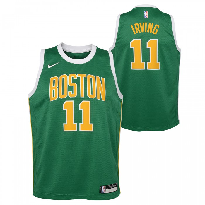 Escabullirse Innecesario cien  Maillot NBA Enfant Kyrie Irving Boston Celtics Nike Earned Edition Swingman