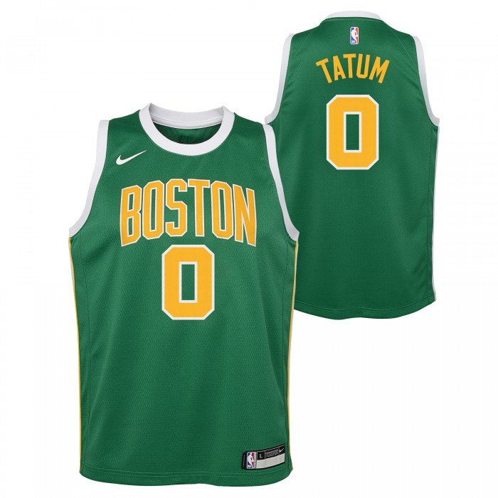 Maillot NBA Enfant Jayson Tatum Boston Celtics Nike Earned Edition Swingman