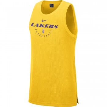 Maillot Los Angeles Lakers Nike Dri-fit Classic amarillo | Nike