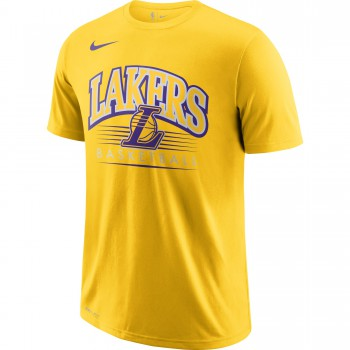 T-shirt Los Angeles Lakers Nike Dri-fit amarillo | Nike