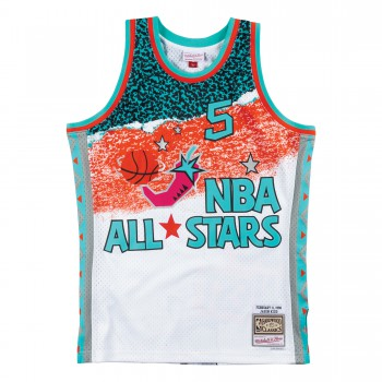 Fashion All Star Swingman Jersey - Jason Kidd Smjyng18436-aswwhit96jki-xl | Mitchell & Ness