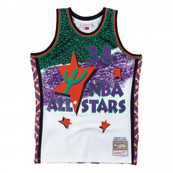 Fashion All Star Swingman Jersey - Hakeem Olajuwon Smjyng18434-aswwhit95hol-xl | Mitchell & Ness