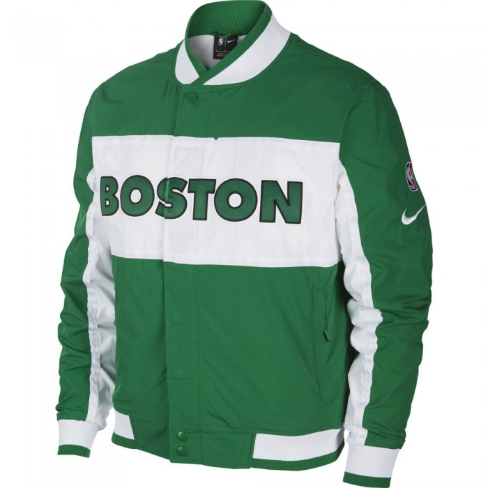 Veste Boston Celtics M Nk Jacket Courtside Icon clover/white/white/white