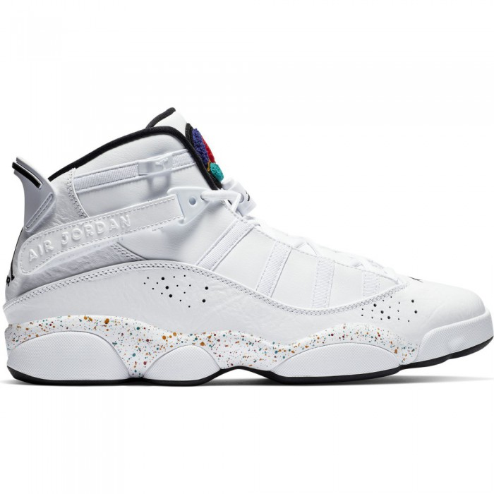 official photos 6be4e b9fa7 Jordan 6 Rings white black-canyon gold-university red