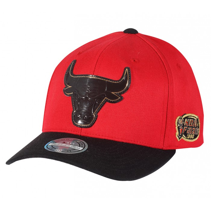 Casquette NBA Chicago Bulls Presto Snapback Mitchell & Ness Red