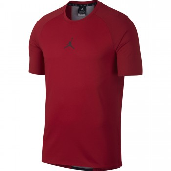 bc850865087684 T-shirt Jordan Dry 23 Alpha gym red black