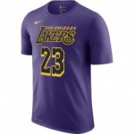T-shirt Los Angeles Lakers City Edition Nike Dri-fit court purple/james lebron (image n°1)