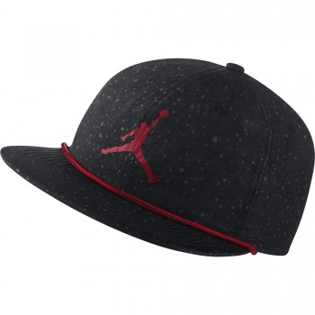 Casquette Jordan Pro Poolside black/black/gym red | Air Jordan