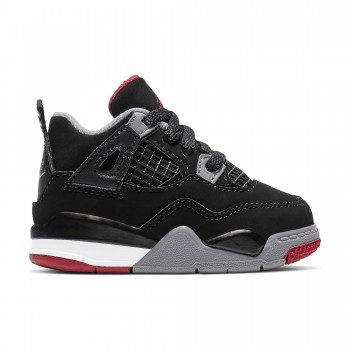 9f2be753d93 Air Jordan 4 Retro bébé black fire red-cement grey-summit white TD