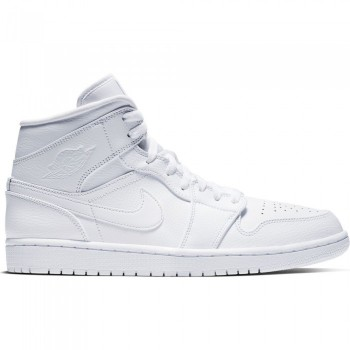 Air Jordan 1 Mid Triple White | Air Jordan