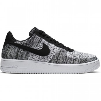 Nike Air Force 1 Flyknit 2.0 black/pure platinum-black-white | Nike