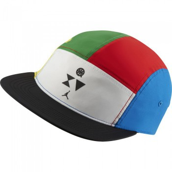 Casquette Jordan Aw84 Quai 54 white/university red/green strike | Air Jordan