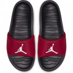 Color  Red of the product Claquettes Jordan Break gym red/white-black