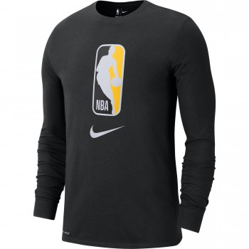 T-shirt Nike Dri-fit black/amarillo | Nike